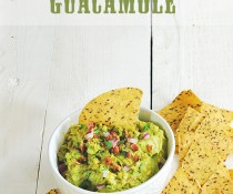Football Eats: Smoky Guacamole with Bacon by FamilySpice.com