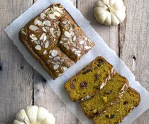 Unprocessed and Gluten Free Pumpkin Bread by FamilySpice.com