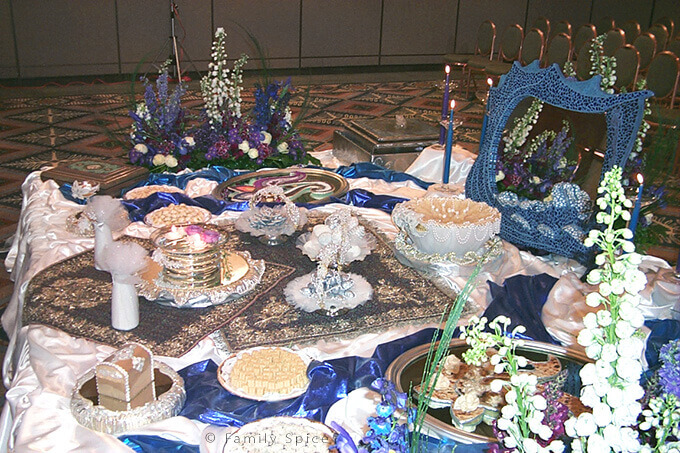 The Persian Wedding Ceremony and Sofreh by FamilySpice.com