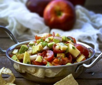 Apple and Avocado Salsa by FamilySpice.com