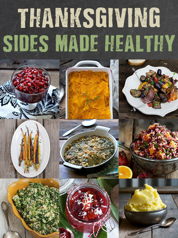 Healthy Thanksgiving Side Dishes for Any Meal by FamilysSpice.com