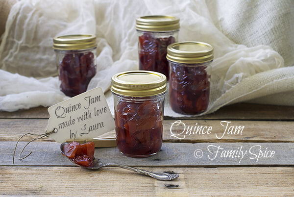 Homemade Holiday Gifts in a Jar: Quince Jam