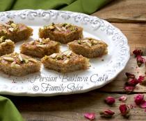 Persian Baklava Cake