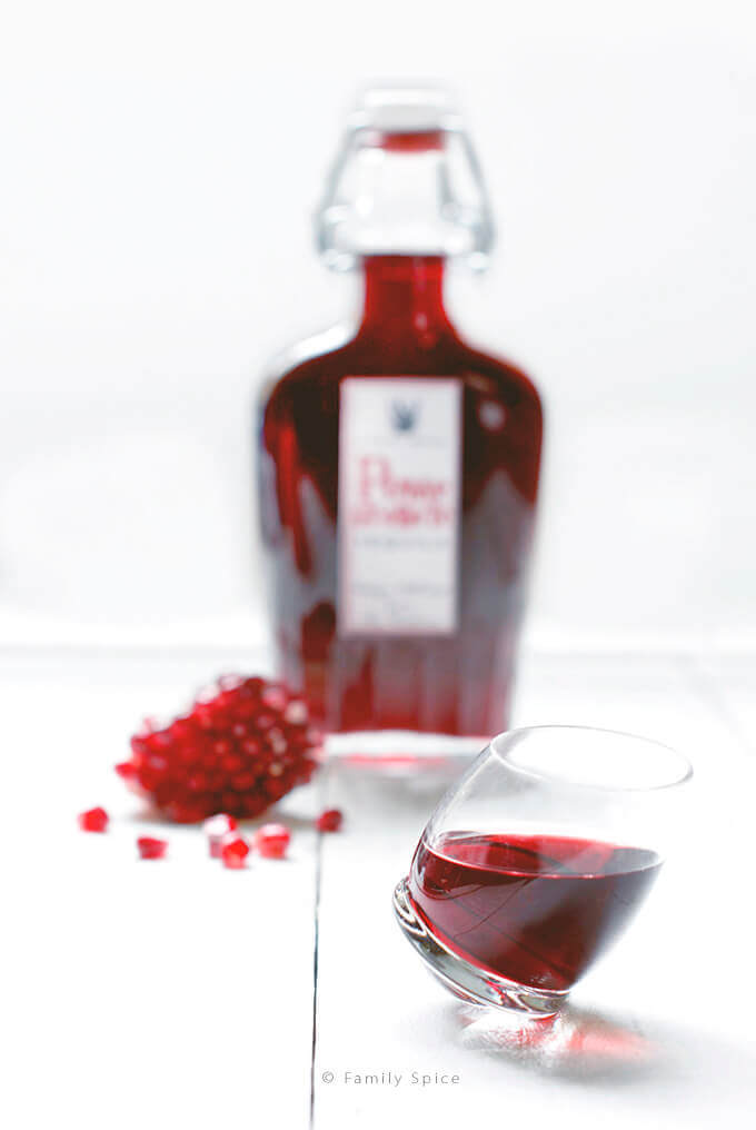 Pomegranate Tequila by FamilySpice.com
