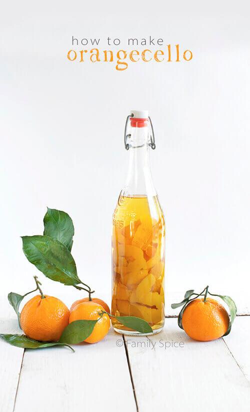 How to make Orangecello - Orange Infused Vodka by FamilySpice.com