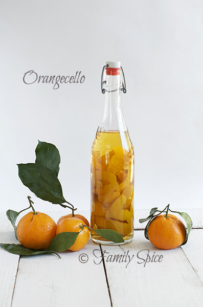 Orangecello - Orange Infused Vodka