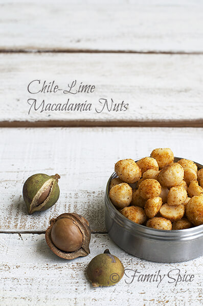 Chile-Lime Macadamia Nuts