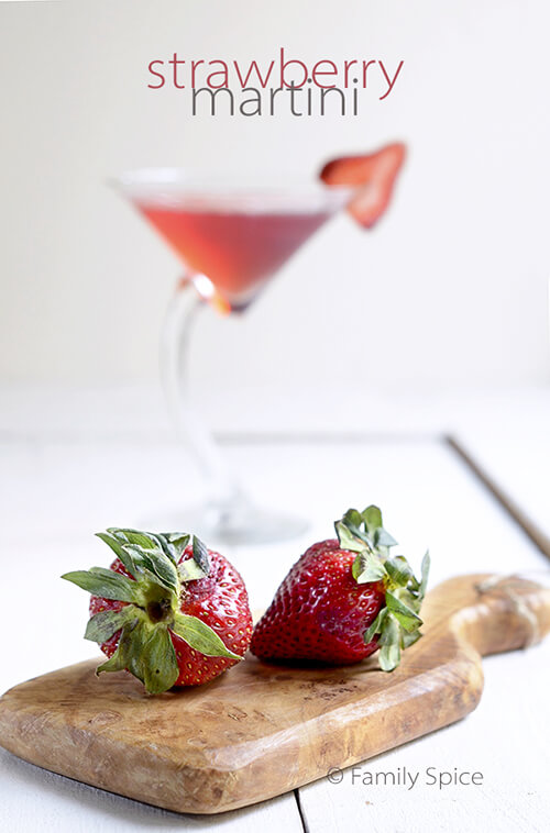 Strawberry Martini by FamilySpice.com