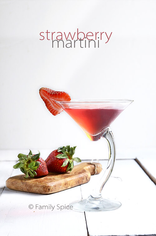 Strawberry Martini by FamilySpice.com