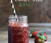 Strawberry, Kale and Pomegranate Cooler Thingie by FamilySpice.com