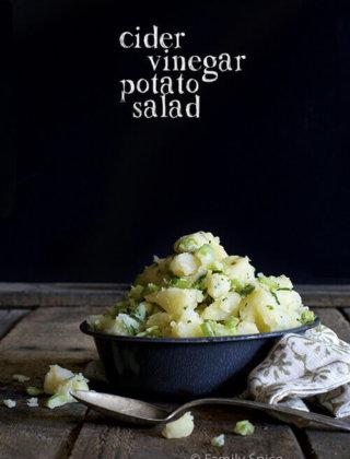 Mayo-Free Cider Vinegar Potato Salad