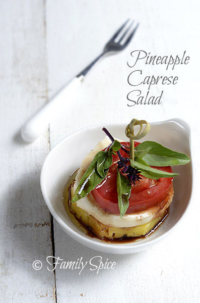 Pineapple Caprese Salad