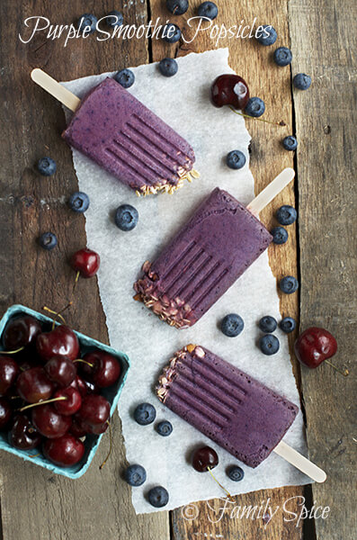 The Purple Smoothie Popsicle