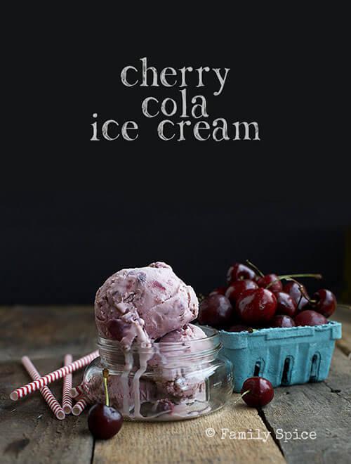 Cherry Cola Ice Cream by FamilySpice.com