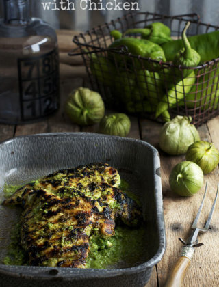 Back to School Dinner: Hatch Chile Verde with Chicken