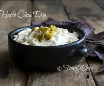 Hatch Chile Dip by familyspice.com