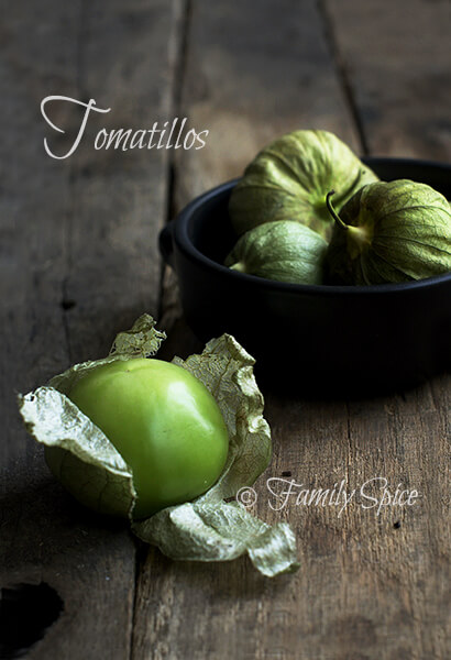 Tomatillos for Hatch Chile Verde with Chicken