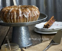 Caramel Apple Bundt Cake