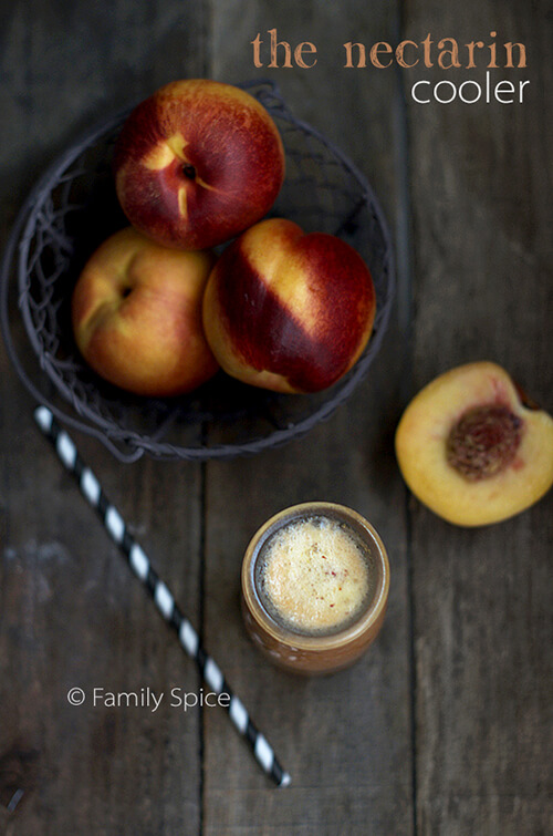 After-School Snack: The Nectarine Cooler by FamilySpice.com