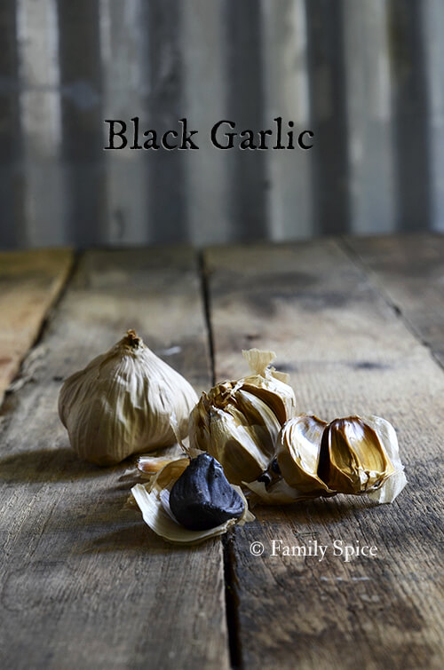 Black Garlic Butter by FamilySpice.com
