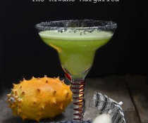 The Kiwano Margarita (aka Toxic Sludge) by FamilySpice.com