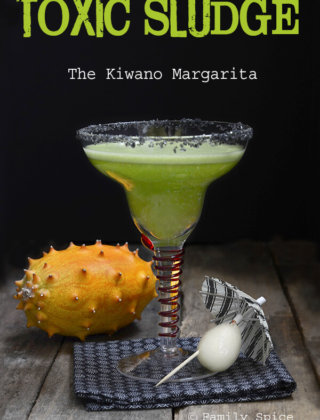 Halloween Cocktails: The Kiwano Margarita