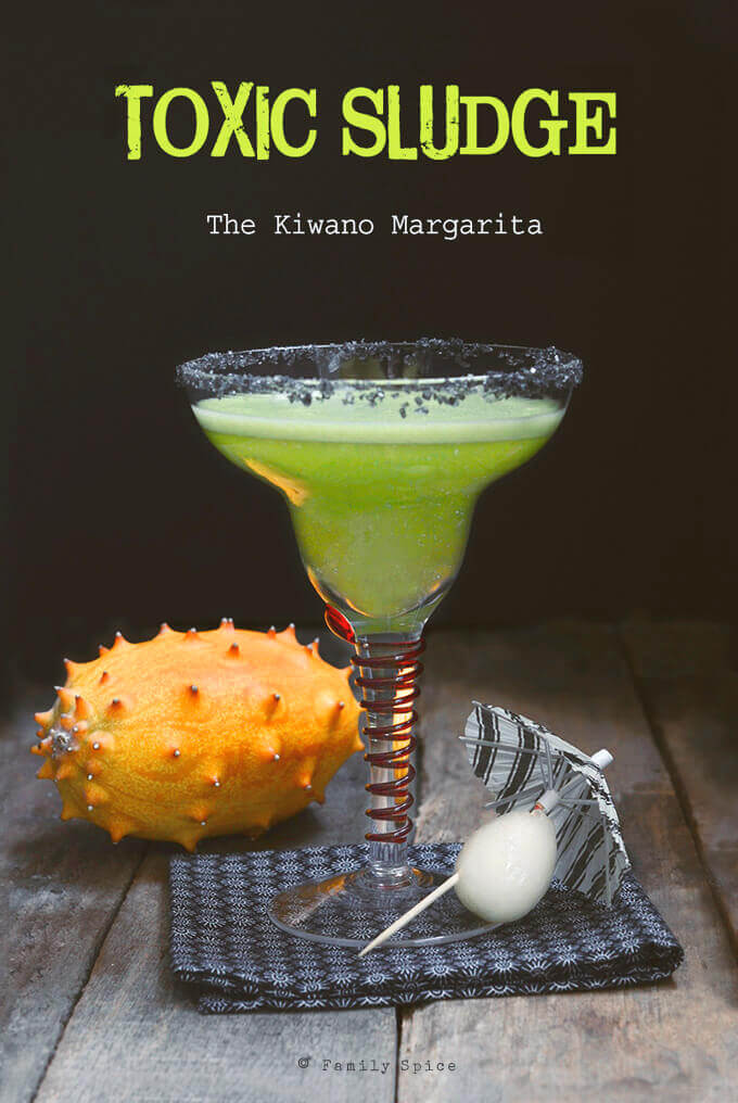 The Kiwano Margarita by Familyspice.com