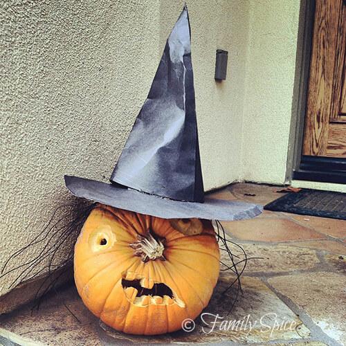 Witch Pumpkin by FamilySpice.com