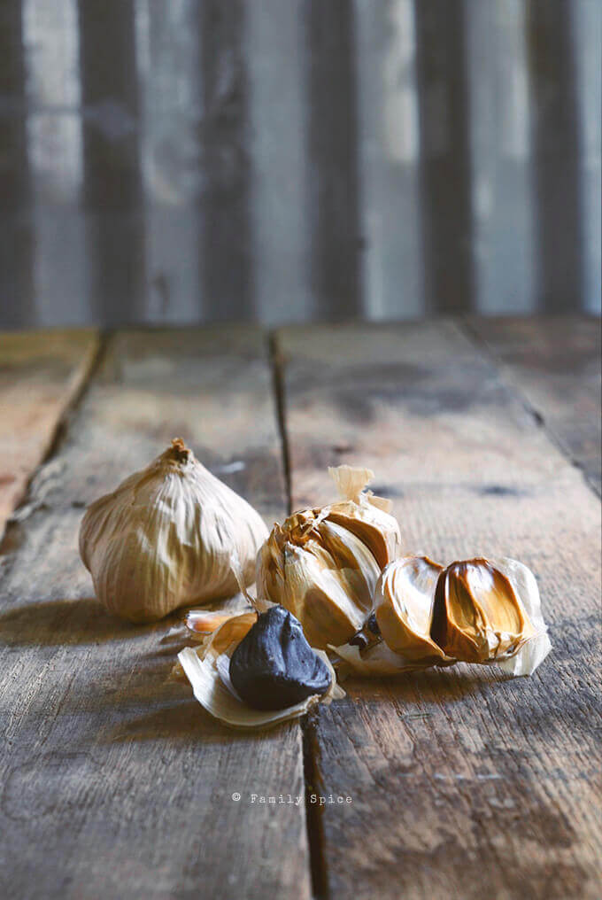 Black Garlic by FamilySpice.com