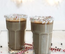 Chocolate Egg Nog - tastes like Bailey's Irish Cream! from FamilySpice.com