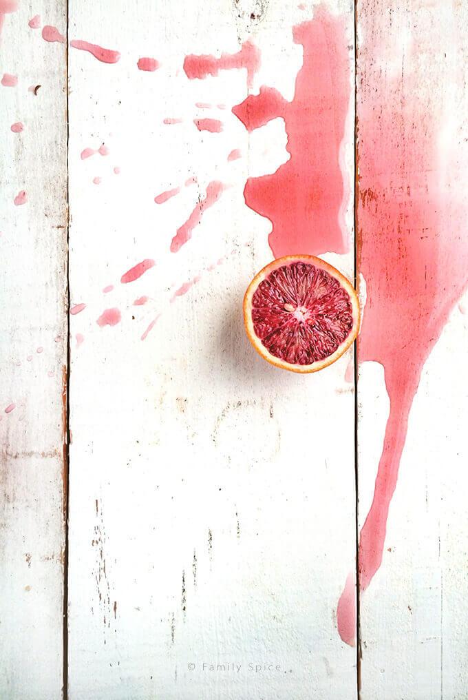 Blood Orange Balsamic Vinegar by Familyspice.com