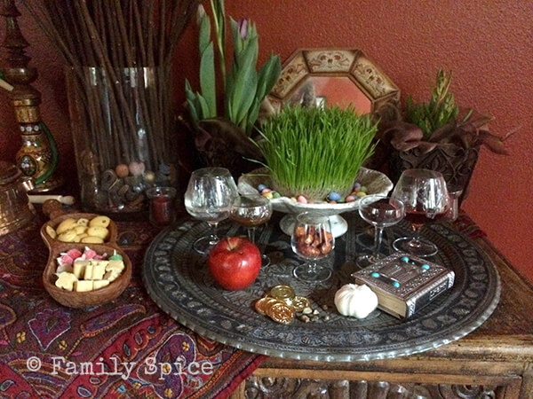 Haft Sin for Norouz by FamilySpice.com