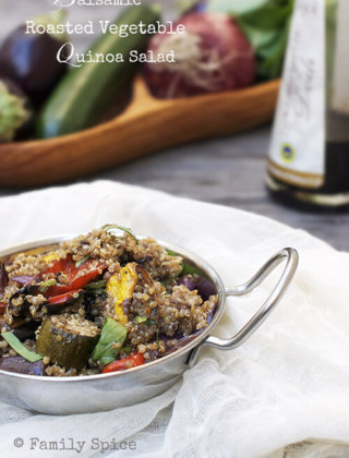 The Versatility of Roasted Vegetables: Balsamic Roasted Vegetable Quinoa Salad