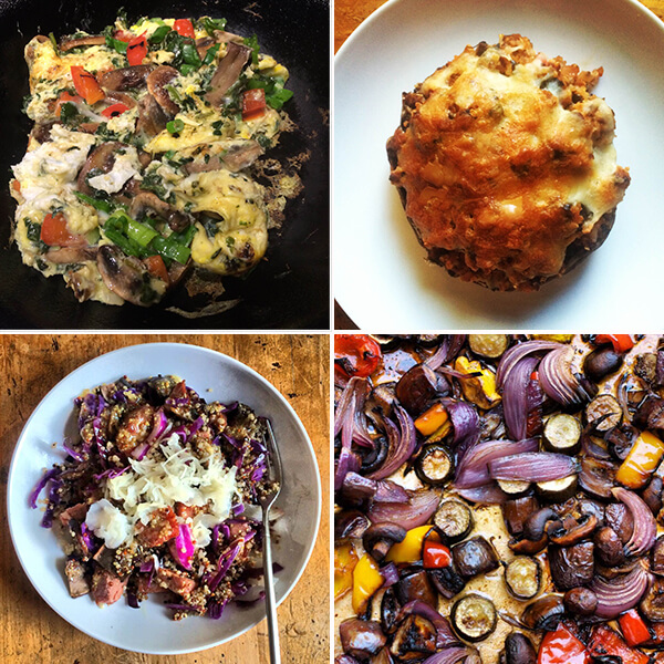 Mushroom Meals for Mamavation's 30-Day Mushroom Challenge by FamilySpice.com