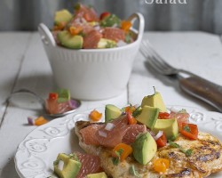 Avocado and Grapefruit Salad by FamilySpice.com