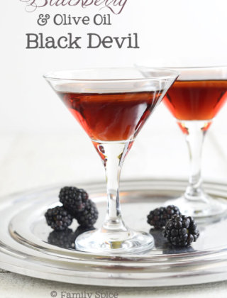 Happy Hour: Blackberry Black Devil with Olive Oil