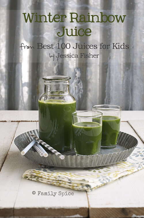 Cookbook Review: Best 100 Juices For Kids. Giveaway on FamilySpice.com ends 5/11/14.