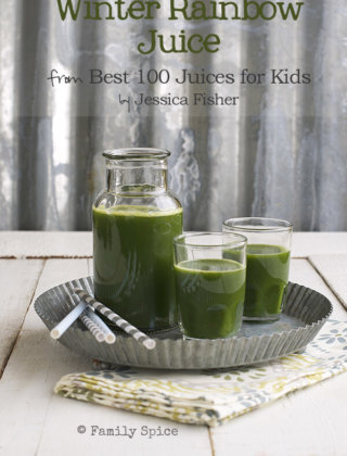Cookbook Review: Best 100 Juices For Kids {Giveaway}