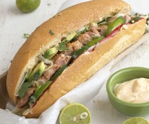 Chicken Banh Mi by FamilySpice.com