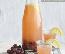 Roasted Grape Lemonade by FamilySpice.com