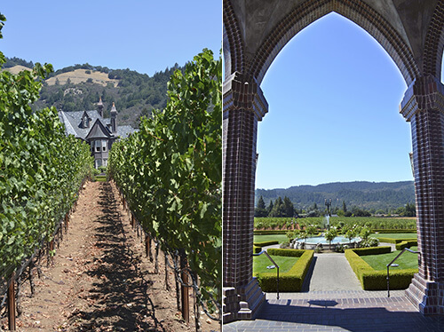 Cookbook Tour: Ledson Winery - Napa by FamilySpice.com