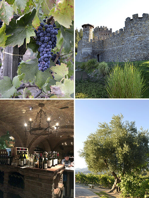 Cookbook Tour: Castello di Amorosa - Napa by FamilySpice.com