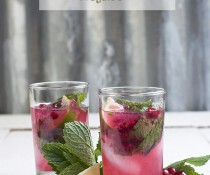 Red Currant Mojito by FamilySpice.com