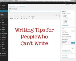Writing Tips for People Who Can't Write by FamilySpice.com