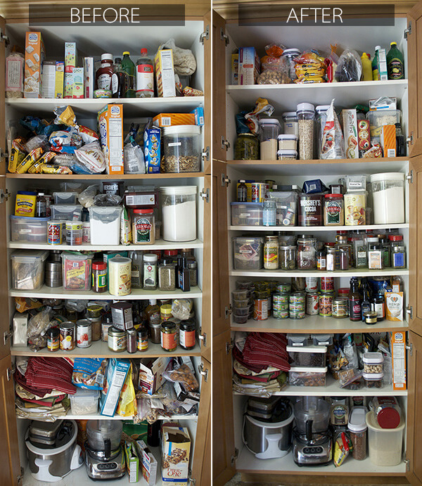 How to Organize Your Kitchen Pantry {Giveaway} by FamilySpice.com