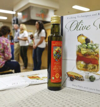 Olive Oil Cookbook Event at Melissa's Produce