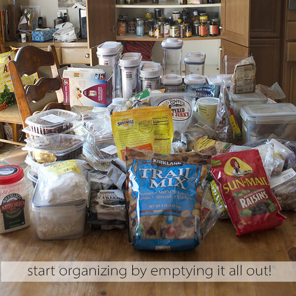 Empty Kitchen Cupboard: How To Organize Your Kitchen Pantry