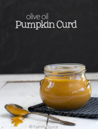 Pumpkin Curd with Olive Oil