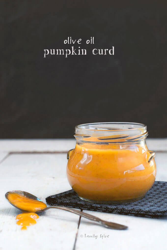 Pumpkin Curd with Olive Oil by FamilySpice.com
