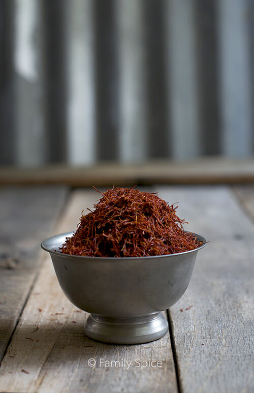 Giveaway to win 5-grams of FREE saffron from FamilySpice.com (giveaway ends 12/2/2014)